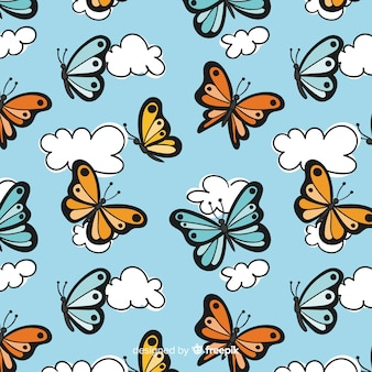 Schmetterlingsmuster
