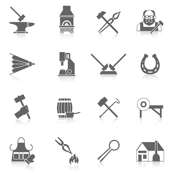 Schmied-icon-set