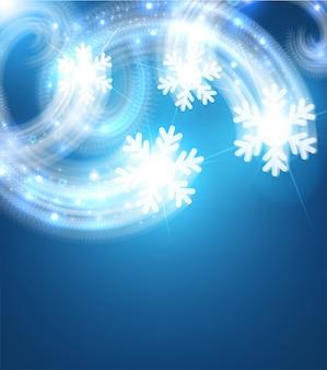 Schnee-glanzlicht glitzernde wunsch