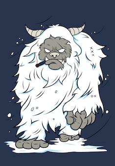 Schnee yeti