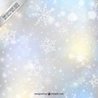Schneeflocke ornament unscharf