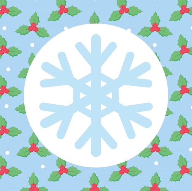 Schneeflocke-symbolbild