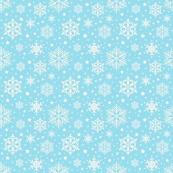 Schneeflocken-muster. nahtlos.