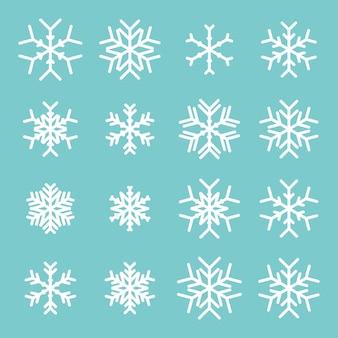 Schneeflocken-symbol