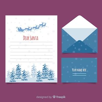 Schneeflocken weihnachten briefvorlage