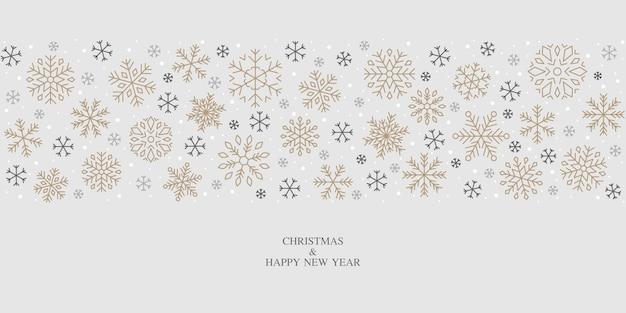 Schneeflockendesign, schnee, weihnachten, muster, feiertag