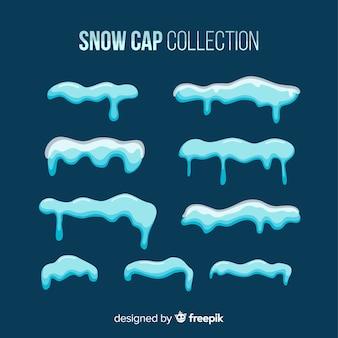 Schneekappen-sammlung