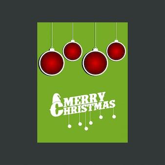 Schneemann frohe weihnachten grüner hintergrund