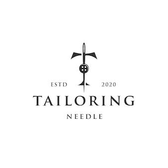 Schneiderbuchstabe t logo vorlage