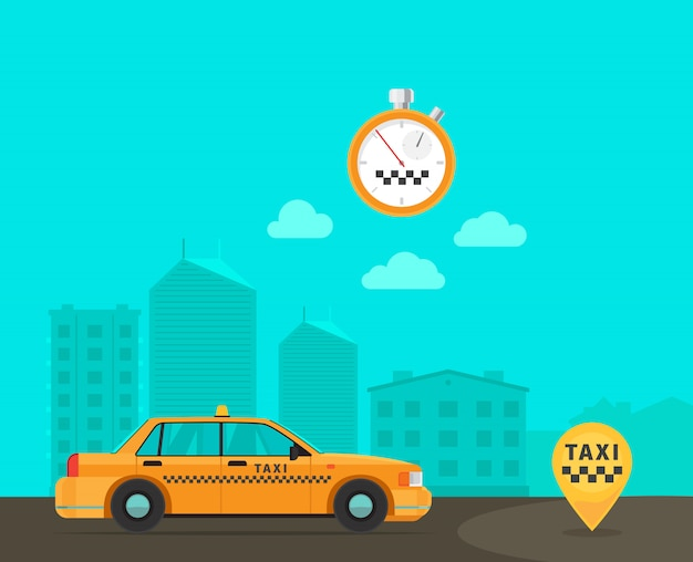 Schnell-taxi-transportservice