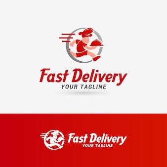 Schnelle lieferung logo