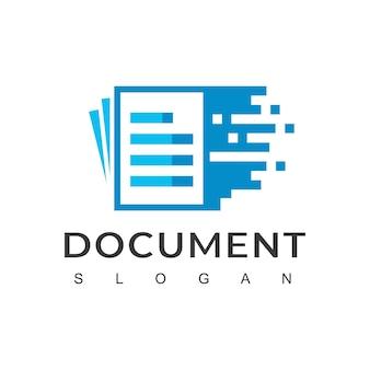 Schnelle logovorlage für digitale dokumente