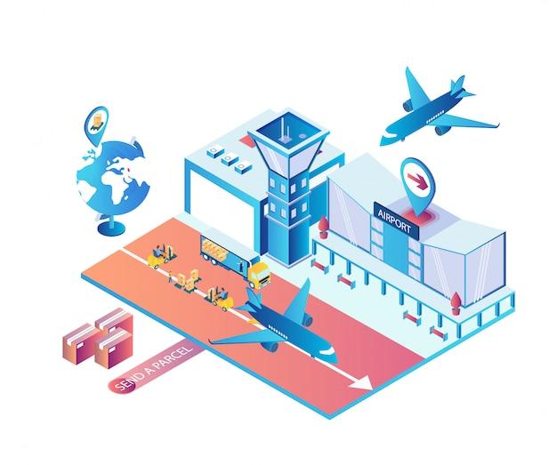 Schneller intercontinental fly transport
