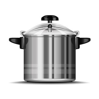 Schnellkochtopf zum kochen
