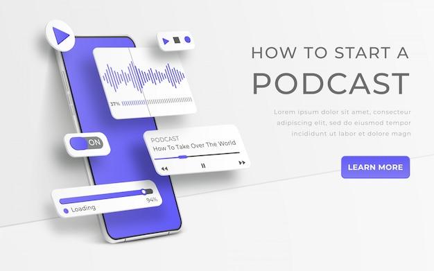 Schnittstelle zur darstellung der audiosteuerung