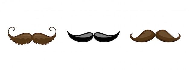 Schnurrbart-sammlung