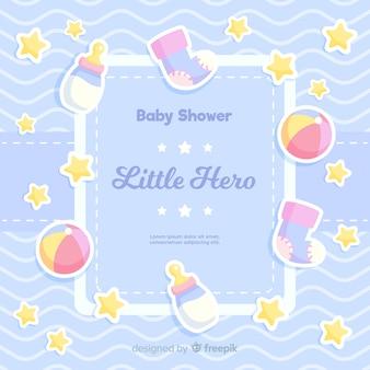 Schöne baby-dusche-design