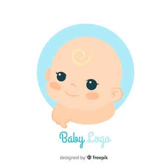 Schöne baby-shop-logo-vorlage