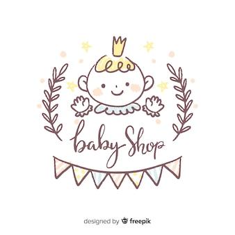 Schöne baby-shop-zusammensetzung