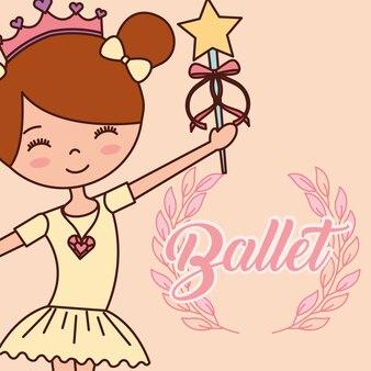 Schöne ballerina