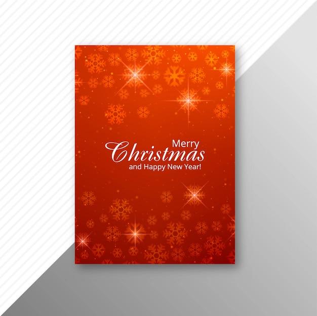 Schöne bunte heiraten weihnachtsfestfliegerschablone