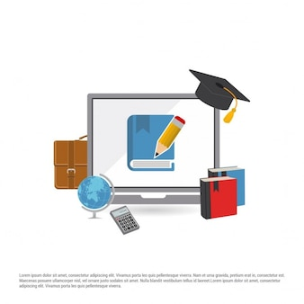 Schöne education icons