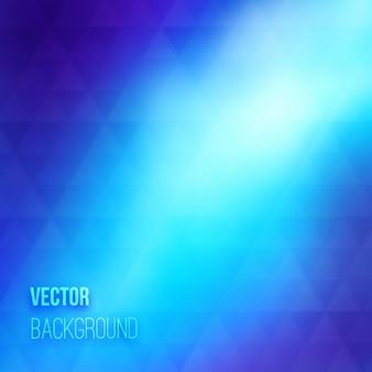 Schöne geometrische blauen hintergrund