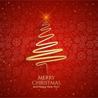 Schöne grußkartenschablone der frohen weihnachten
