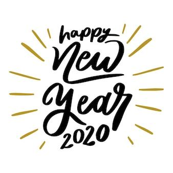 Schöne guten rutsch ins neue jahr-beschriftung 2020