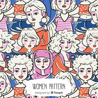 Schöne komposition des feminismus