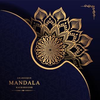 Schöne luxus-mandala-tapete