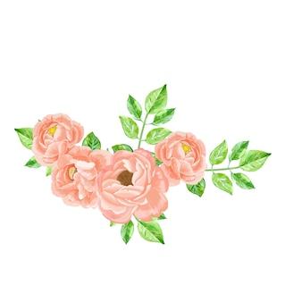 Schöne rosenblüten