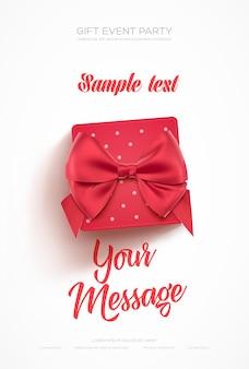 Schöne valentinstag-grußkarte