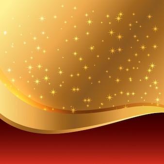 Schönen goldenen hintergrund