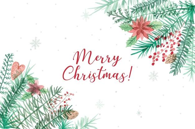 Schönen hintergrund der frohen weihnachten