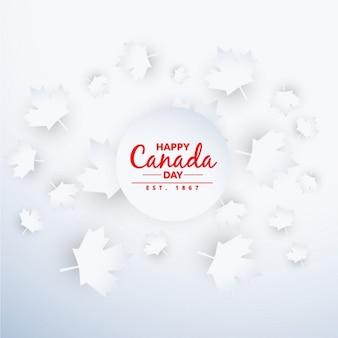 Schönen hintergrund kanada-tag