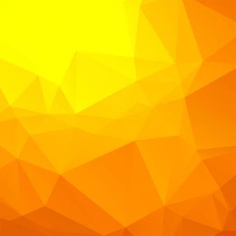Schöner bunter polygonhintergrundvektor