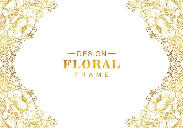 Schöner dekorativer goldener hintergrund