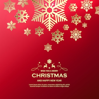 Schöner hintergrund der frohen weihnachten