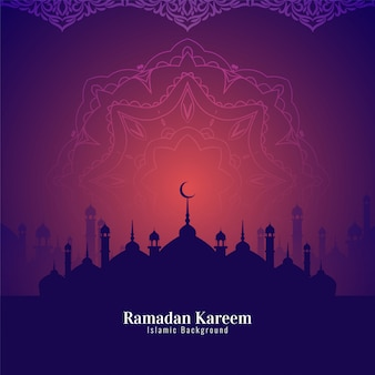 Schöner hintergrund des abstrakten ramadan kareem