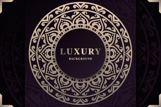 Schöner luxus-mandala-bildschirmschoner