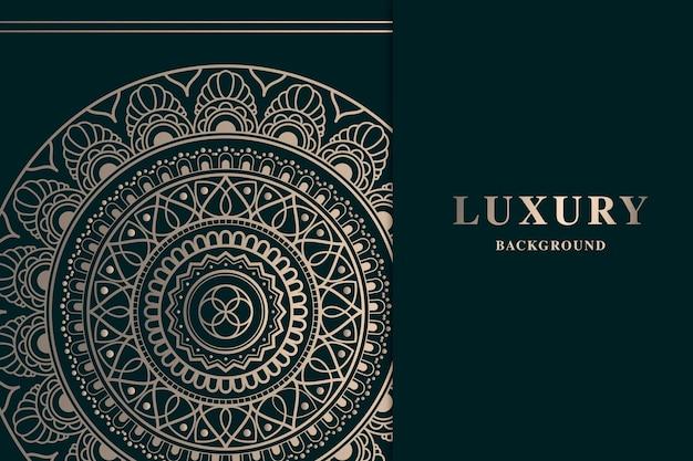 Schöner luxusmandalahintergrund
