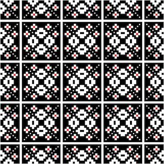 Schöner pixelmotivmusterhintergrund