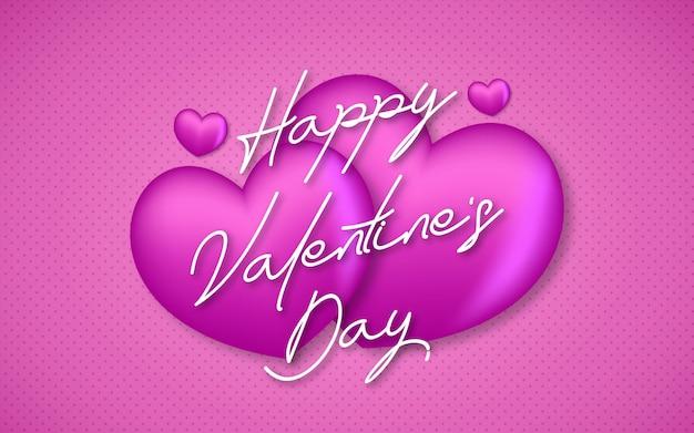 Schöner und süßer valentinstag