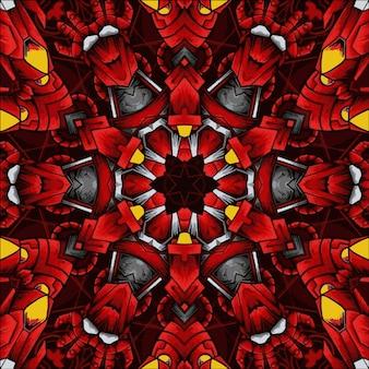 Schönes abstraktes kaleidoskop
