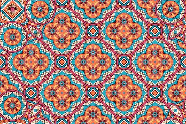 Schönes hintergrund-geometrisches kreiselement der verzierung, das im vektor gemacht wird