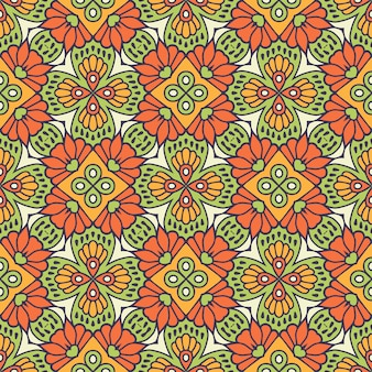 Schönes indisches traditionelles nahtloses muster