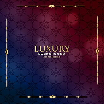 Schönes luxusweinlesehintergrunddesign
