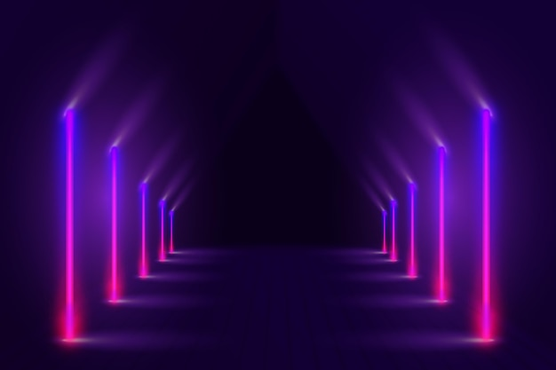 Schönes neon-hintergrunddesign