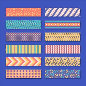Schönes washi tapes set
